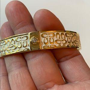 Coach Jewelry - Coach Bangled Bracelet
